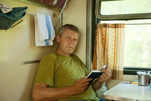 Truck drivers can take time for themselves and try meditation to relax