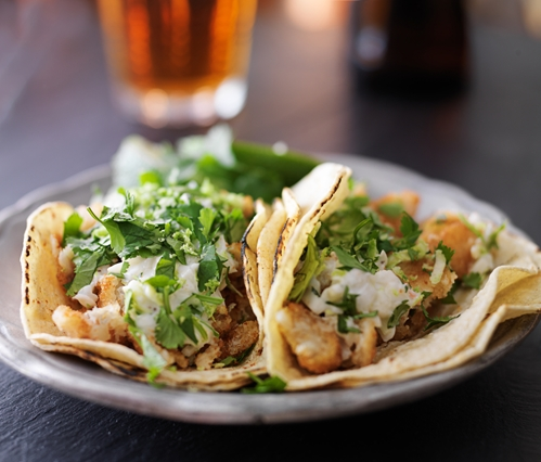 That taco might be tempting - but don't eat while you're driving.