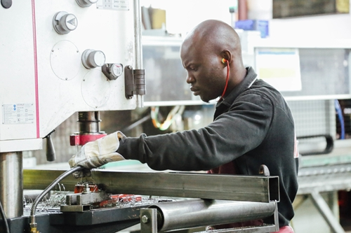 Manufacturing hiring continued making gains in October, according to the latest employment report.