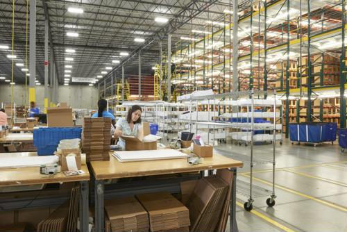 Warehouse worker pay a big concern ahead of holiday season