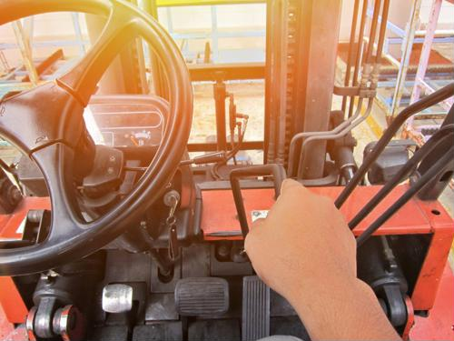 Many warehouses still need forklift drivers