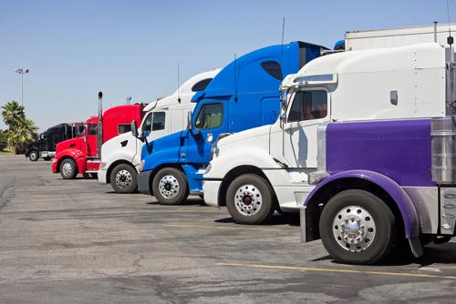 Parking still a big issue for truckers