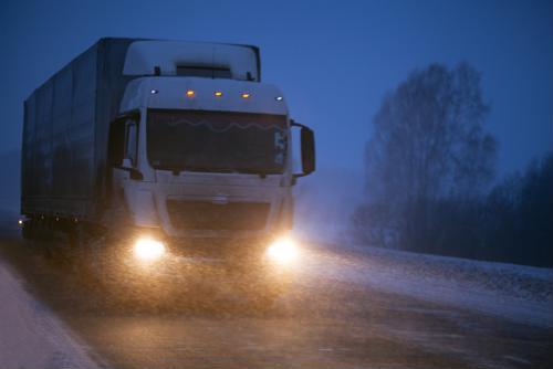Trucker safety a concern in winter