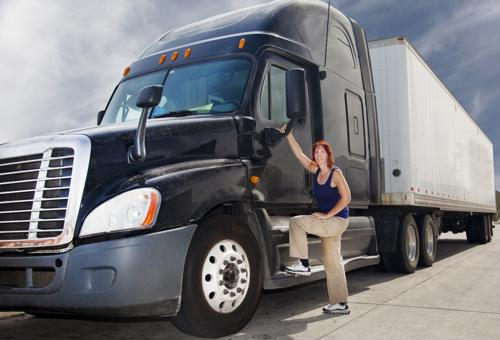 More women becoming interested in trucking?
