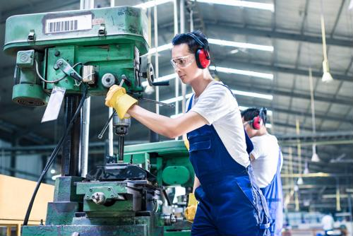 Where is the manufacturing sector strongest?
