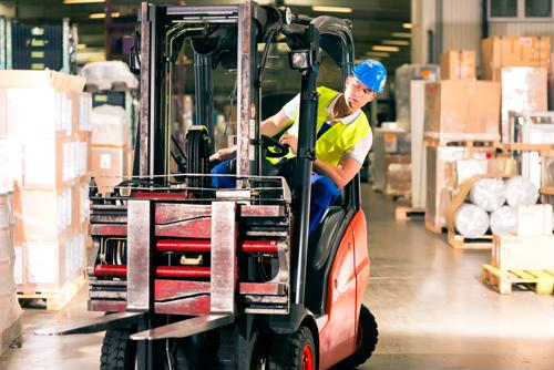 When operating certain warehouse equipment, such as forklifts, employees need to undergo adequate training.