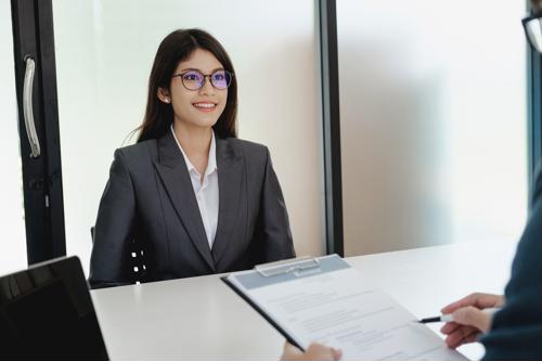 What should you do after a job interview?