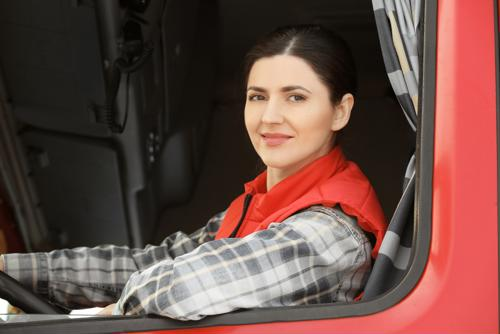 More women being drawn to trucking?
