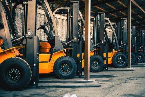 6 winter forklift safety tips