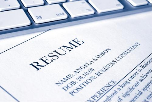 6 items for your resume checklist