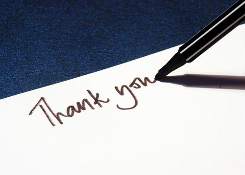 5 tips for writing a thank-you letter after an interview