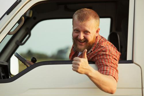 6 ways truckers can stay happy on the road