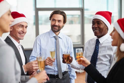 group, boss, gift, holidays, workers